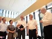 Le projet Deutsches Haus témoigne de la bonne volonté du Vietnam et d'Allemagne