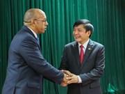 Le président de la Confédération du Travail du Vietnam reçoit l'ambassadeur de Cuba au Vietnam