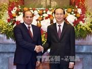 Le président égyptien en visite d'Etat au Vietnam