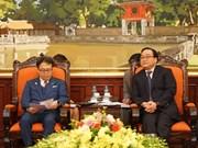 Hanoï souhaite des aides japonaises pour ses projets ferroviaires