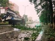 Message de sympathie du PM laotien au Vietnam après le passage du typhon Doksuri