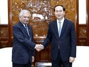 """Le président """"très optimiste"""" des liens Vietnam-ONU"""