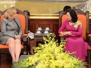 Renforcer la coopération entre Hanoï et Dublin