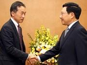 Vietnam-Japon : Pham Binh Minh se félicite du rôle de la JICA