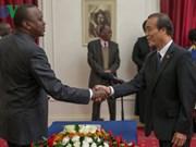 Kenya souhaite impulser la coopération avec le Vietnam