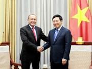 Le vice-PM Pham Binh Minh reçoit l'ambassadeur kazakh au Vietnam