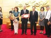 L'ambassadeur bulgare Evguenia Stoytchev à l'honneur