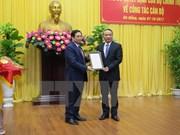 Le ministre des Transports et des Communications nommé Secrétaire du Comité du Parti de Da Nang