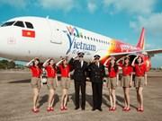 Vietjet primée en tant que compagnie aérienne pionnière