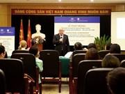 Création du logo en l'honneur des 45 ans des relations diplomatiques Vietnam - Australie