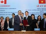 Signature d'un accord de coopération entre Ho Chi Minh-Ville et Toronto