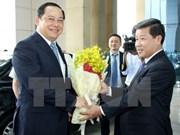 Le vice-PM laotien Sonexay Siphandone en visite à Binh Duong
