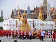 Thaïlande : les funérailles royales ont commencé