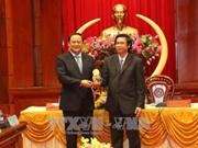 Le vice-PM laotien Sonexay Siphadone poursuit sa tournée dans le delta du Mékong