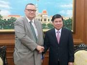Hô Chi Minh-Ville veut coopérer avec les entreprises finlandaises
