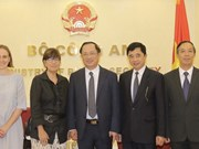 Le Vietnam et la Belgique attendent un accord dans la lutte contre la criminalité