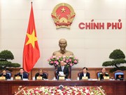 Gouvernement : ouverture de la réunion périodique d'octobre