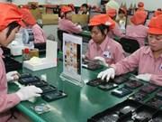 Octobre : bond des exportations de téléphones et accessoires