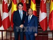 Le Premier ministre canadien Justin Trudeau en visite officielle au Vietnam