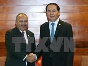 APEC 2017 : le Vietnam et la Papouasie-Nouvelle-Guinée renforcent leur coopération