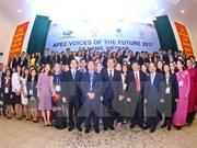 APEC 2017 : clôture du forum Voix du Futur de l'APEC 2017 à Quang Nam