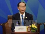 APEC 2017: le président vietnamien participe au dialogue de l'APEC-ABAC