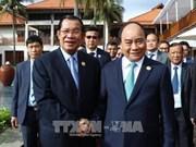 APEC 2017: des dirigeants vietnamiens reçoivent le Premier ministre cambodgien