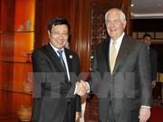 APEC 2017 : le vice-PM Pham Binh Minh reçoit le secrétaire d'Etat américain Rex Tillerson