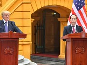 Conférence de presse sur l'entretien Tran Dai Quang-Donald Trump