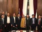Renforcement de la coopération entre Hanoï et les villes du Brésil, d'Argentine et du Chili