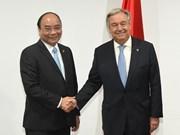 Renforcement des relations avec l'ONU et l'UE