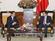 Le vice-Premier ministre Pham Binh Minh reçoit l'ambassadeur de Mongolie