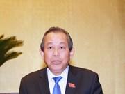 Le vice-PM permanent Truong Hoa Binh en visite en République de Corée