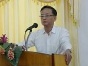 Cours de formation sur les compétences en relations publiques au Laos