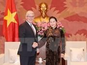 La présidente de l'AN reçoit l'ambassadeur d'Australie