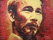 Exposition des portraits en céramique des dirigeants économiques de l'APEC