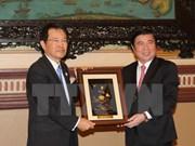 Ho Chi Minh-Ville-Osaka : promotion des échanges économiques