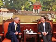 Promotion des relations de coopération Vietnam-Irlande