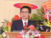 Le vice-PM Vu Duc Dam salue le rôle de la Croix-Rouge dans l'humanitaire