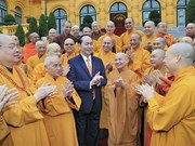 Le président Tran Dai Quang salue le succès du Congrès national de l'EBV