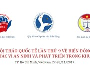 Ouverture de la 9e conférence internationale sur la mer Orientale 2017