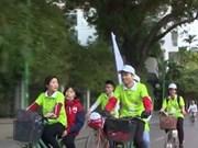 Hanoï : faire du vélo pour améliorer la prise de conscience sur la croissance verte
