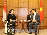Le Vietnam prend en considération le développement du partenariat stratégique avec Singapour