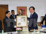 Le président de la Cour populaire suprême en visite en Inde