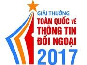 Communiqué: Prix national de l'information pour l'étranger 2017