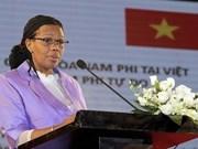L'ambassadrice d'Afrique du Sud au Vietnam à l'honneur