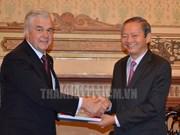 Hô Chi Minh-Ville et Hambourg renforcent leur coopération