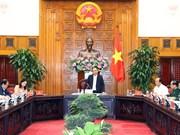 Le PM Nguyen Xuan Phuc travaille avec les responsables d'An Giang