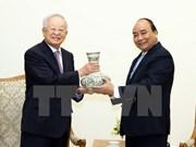 Le Premier ministre Nguyen Xuan Phuc reçoit le président du groupe sud-coréen CJ