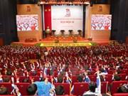 Début de la première séance du 11e Congrès national de l'UJC-HCM